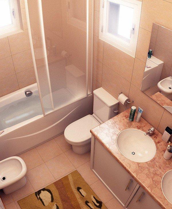 10 ý tưởng thiết kế siêu đẹp cho phòng tắm siêu nhỏ thumbnail