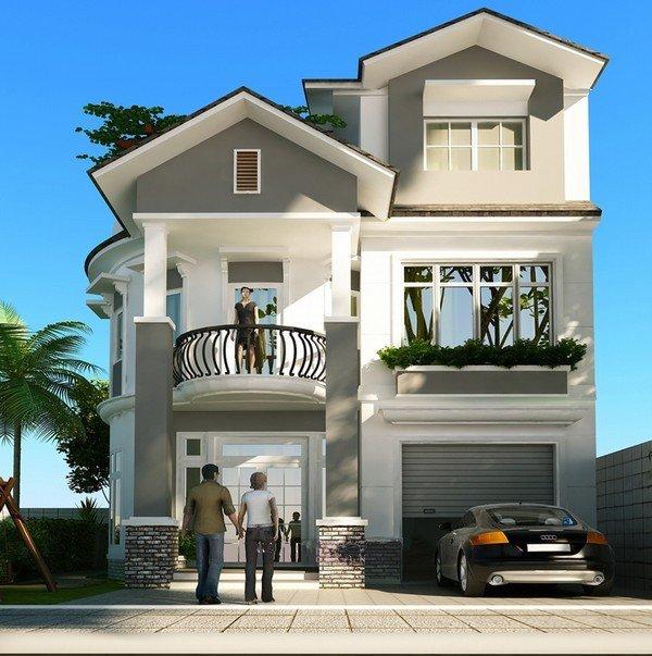8 mẫu biệt thự nhà phố đẹp nhìn là mê thumbnail