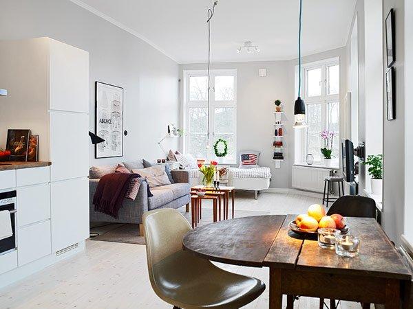 Căn hộ nhỏ 39m2 tại Gothenburg với thiết kế quyến rũ thumbnail