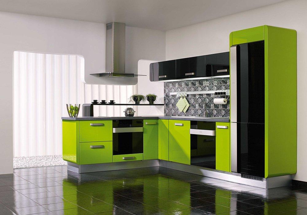 Màu sắc tủ bếp đẹp sang hợp phong thủy cho người mệnh Mộc post image
