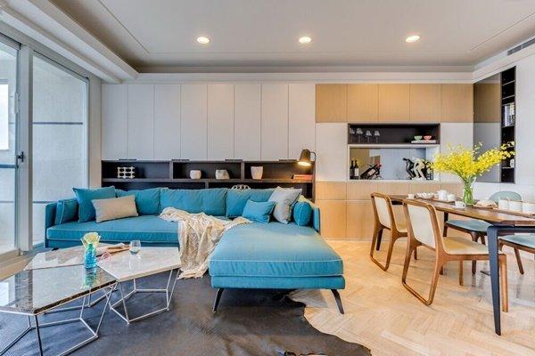 Xu hướng nội thất mẫu nhà đẹp căn hộ chung cư 60m2 năm 2018 thumbnail