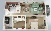 Xu hướng thiết kế căn hộ 1 phòng ngủ cho cặp đôi mới cưới thumbnail