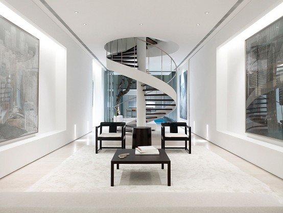 10 mẫu thiết kế cầu thang đẹp kiểu xoắn ốc độc đáo post image