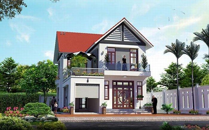 9 mẫu nhà đẹp 2 tầng ở nông thôn đẹp mê ly thumbnail