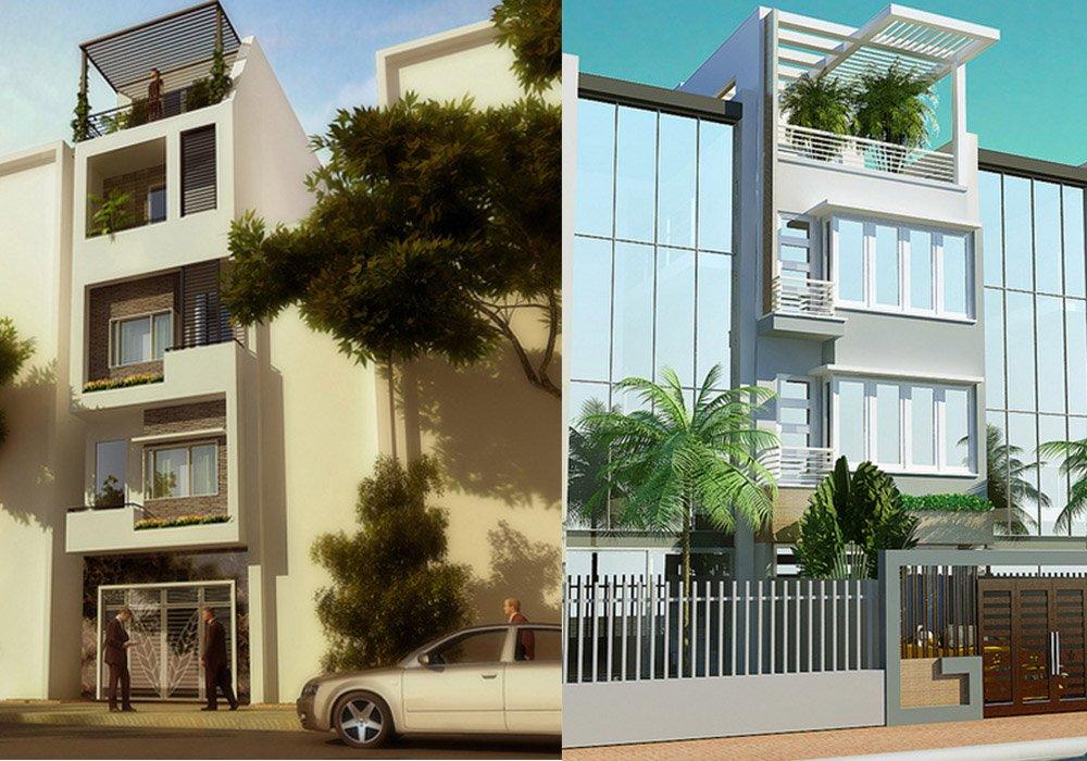 15 mẫu thiết kế nhà phố hiện đại năm 2018 post image