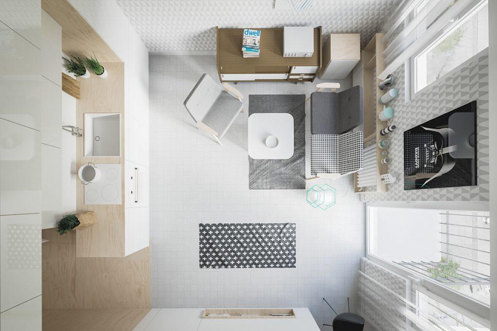2 mẫu thiết kế nhà nhỏ dưới 30m2 siêu xinh của hai cặp vợ chồng trẻ thumbnail