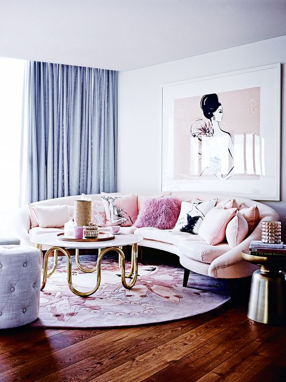 32 ý tưởng trang trí nội thất phòng khách đẹp truyền cảm hứng đầy nữ tính