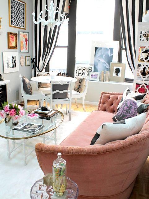 32 ý tuỏng nội thất trang trí phòng khách đẹp cho phái nữ