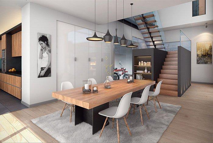 5 mẫu nội thất phòng ăn thu hút khách năm 2018 post image