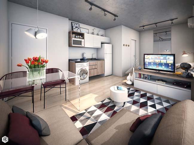 5 mẫu thiết kế chung cư đẹp hút mắt năm 2018 post image
