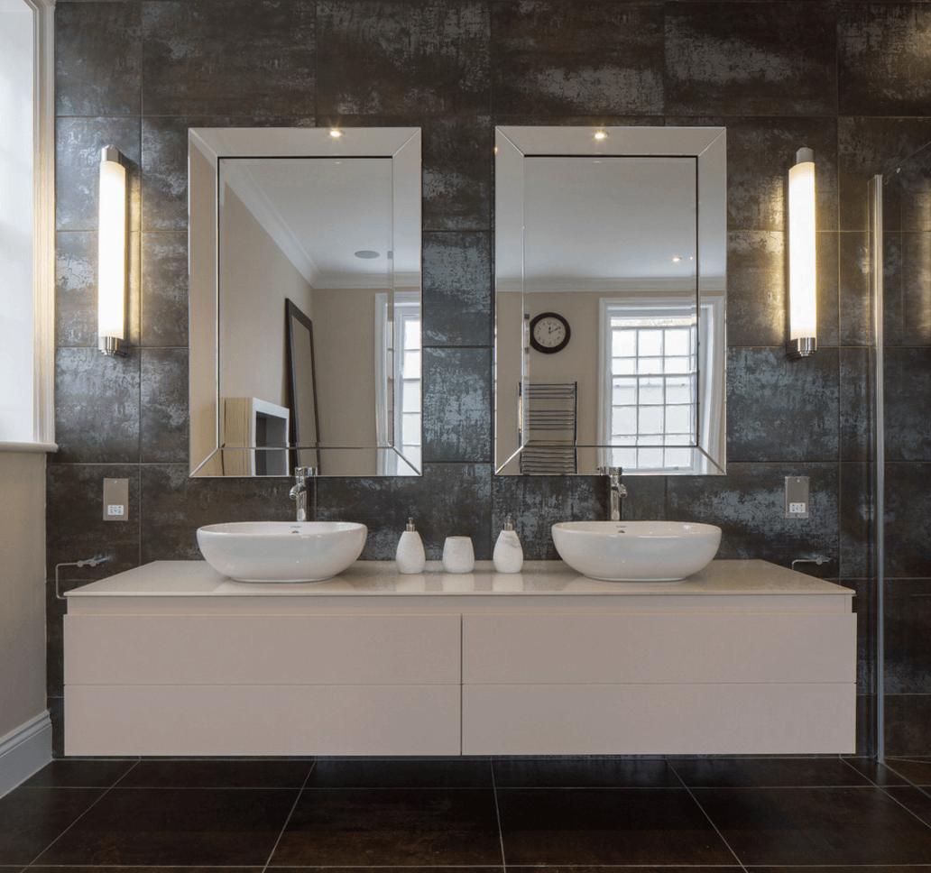 6 ý tưởng thiết kế gương phòng tắm thể hiện phong cách gia chủ post image