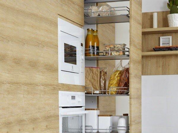 9 ý tưởng thiết kế nội thất cho không gian bếp nhỏ đẹp - Nội thất đa năng âm tường