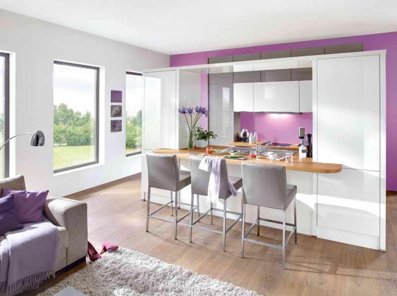 9 ý tưởng thiết kế nội thất cho không gian bếp nhỏ đẹp - Không gian bếp 3 trong 1