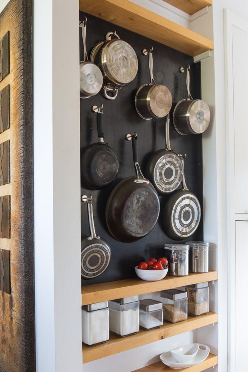 9 ý tưởng thiết kế nội thất cho không gian bếp nhỏ đẹp - Tận dụng mọi khoảng không gian bếp