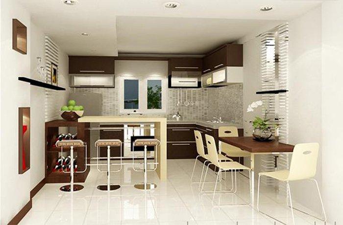 Image result for Phòng bếp nhà ống