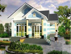 Các kiểu nhà 1 tầng đẹp mang phong cách sang chảnh thumbnail