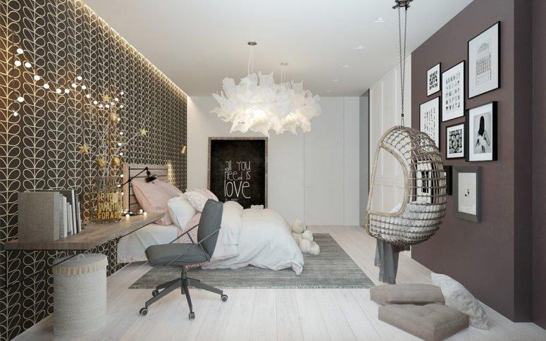 Khám phá không gian phòng ngủ đẹp của một cô gái sành điệu post image