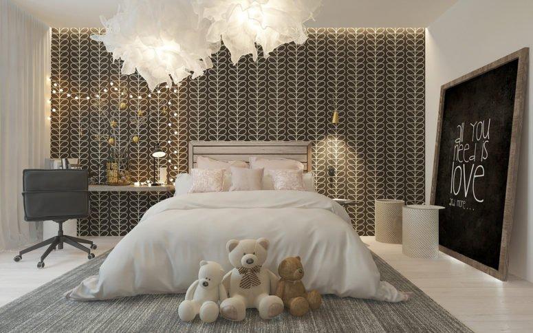 Không gian phòng ngủ đẹp của cô gái sành điệu