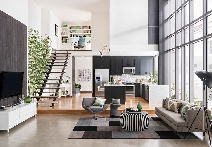 5 bí quyết bỏ túi giúp bạn tận dụng tối đa không gian phòng khách rộng thumbnail