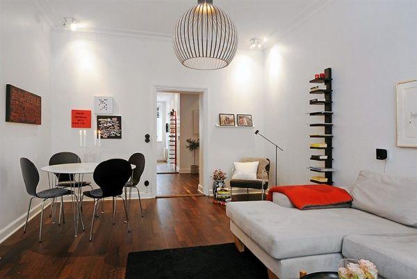Làm thế nào thiết kế căn hộ 45m2 2 phòng ngủ theo phong cách độc đáo post image