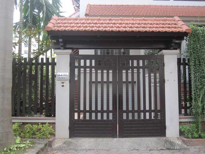 mẫu cổng nhà đẹp 25