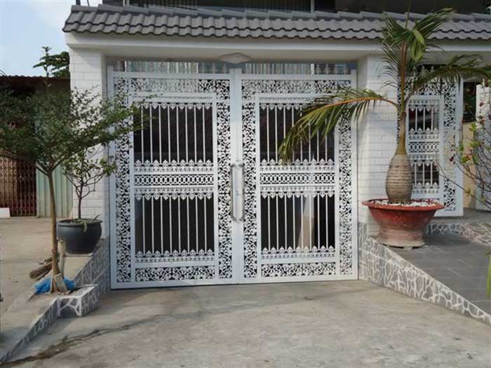 mẫu cổng nhà đẹp 24