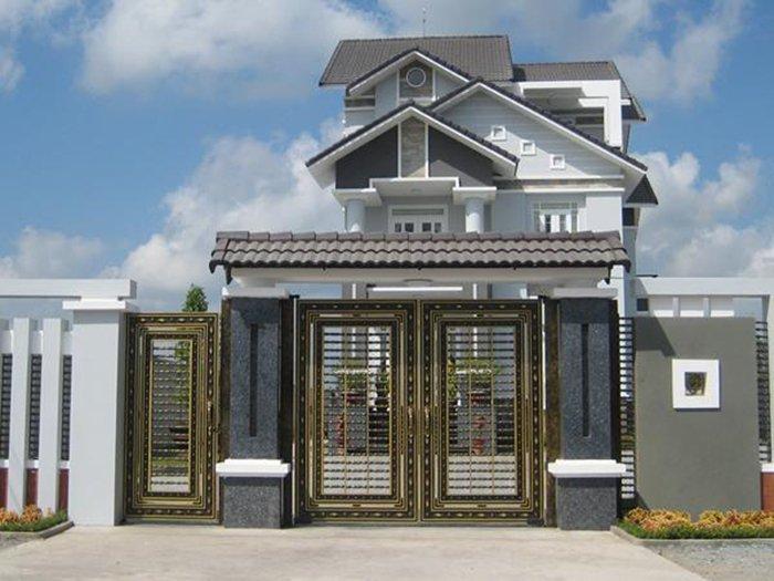 mẫu cổng nhà đẹp 30