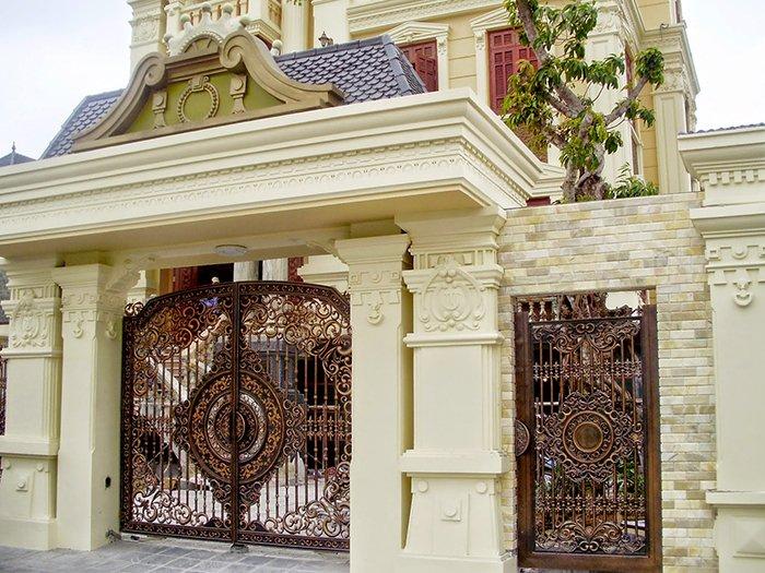 mẫu cổng nhà đẹp 28