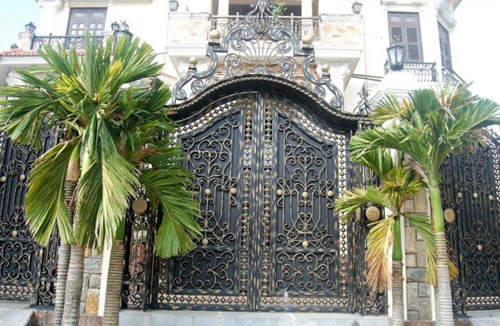mẫu cổng nhà đẹp 27