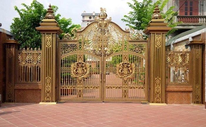 mẫu cổng nhà đẹp 26