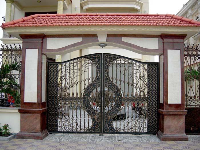 Mẫu cổng nhà đẹp19