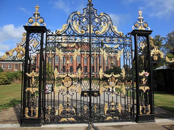 mẫu cổng nhà đẹp 10