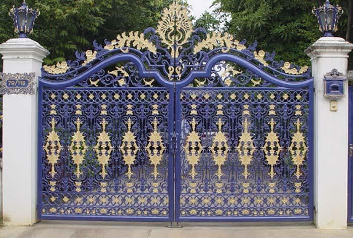 mẫu cổng nhà đẹp 09