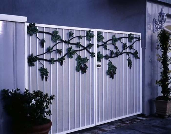 mẫu cổng nhà đẹp 06
