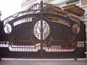 Kích thước lỗ ban cửa cổng