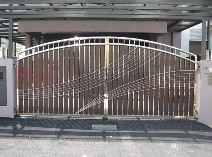 mẫu cổng nhà đẹp 05