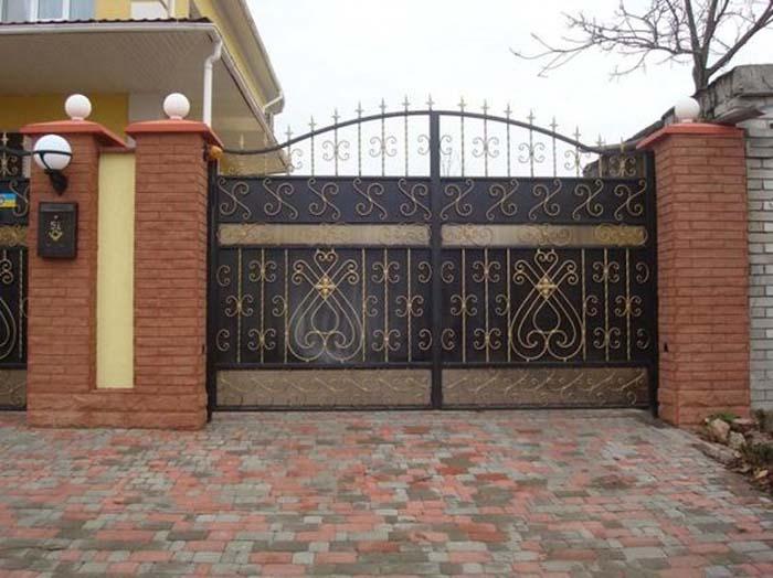 mẫu cổng nhà đẹp 02