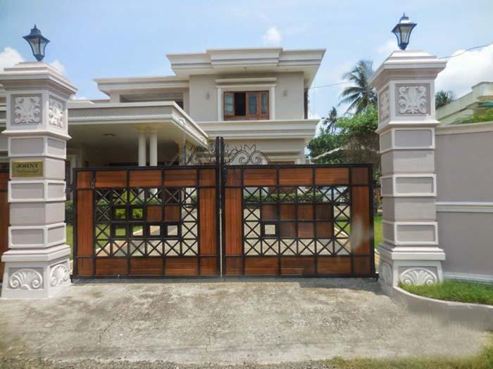 Mẫu cổng nhà đẹp 20