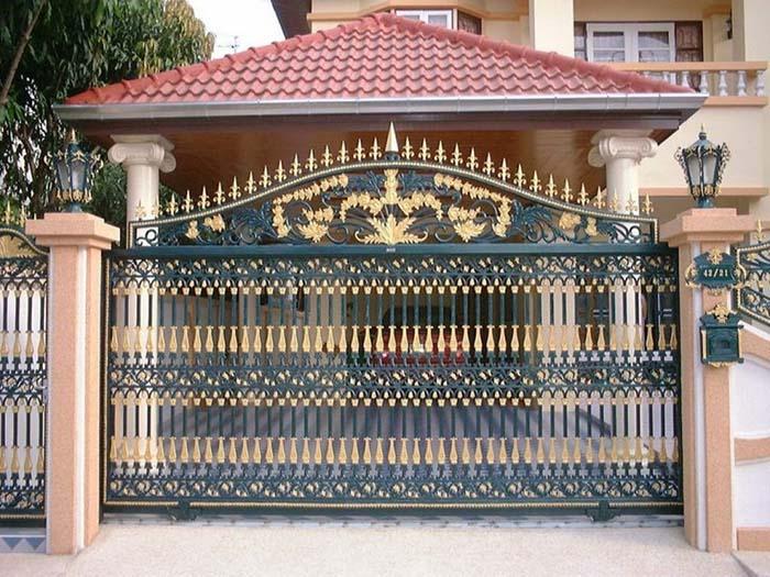mẫu cổng nhà đẹp 01