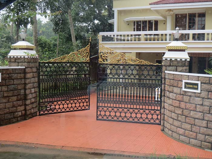 Mẫu cổng nhà đẹp 17