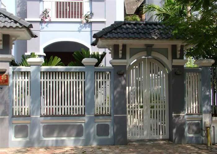mẫu cổng nhà đẹp 15
