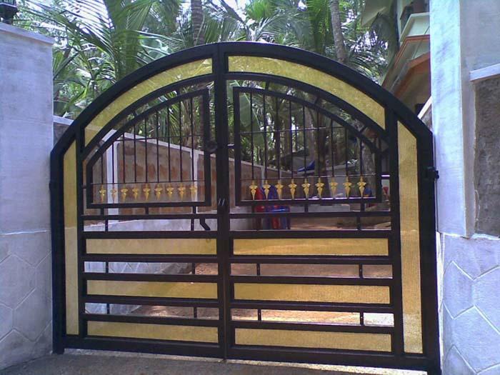 mẫu cổng nhà đẹp 14