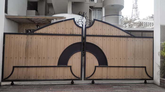 mẫu cổng nhà đẹp 13