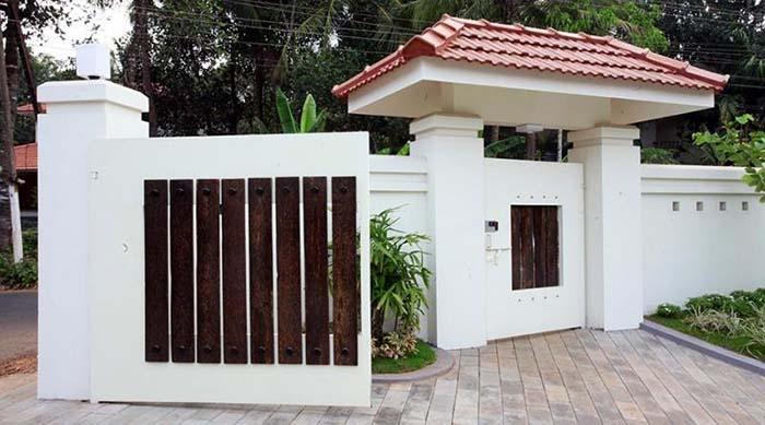 mẫu cổng nhà đẹp 12