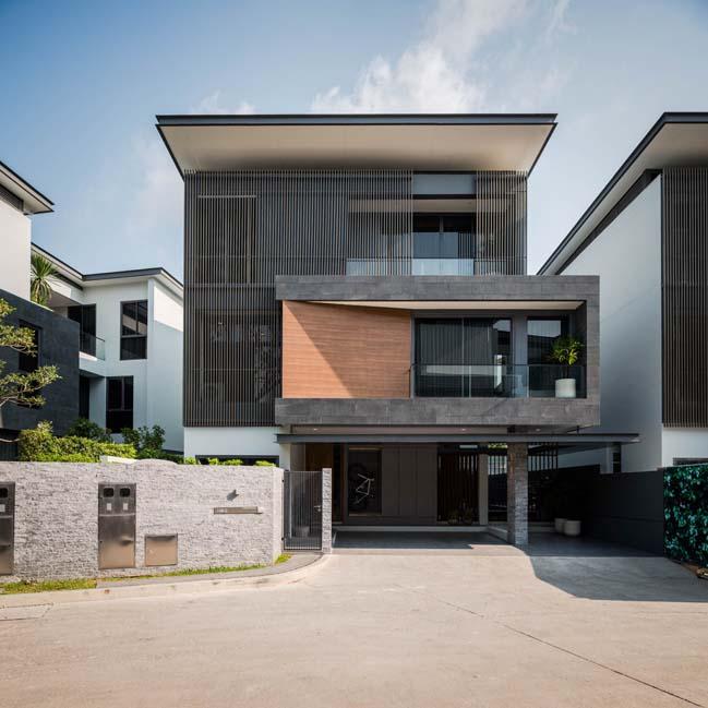 Mẫu nhà biệt thự đẹp 3 tầng hiện đại với thiết kế hình khối thumbnail