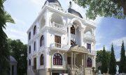 Mẫu nhà phố cổ điển đẹp sang trọng tại Hà Nội thumbnail