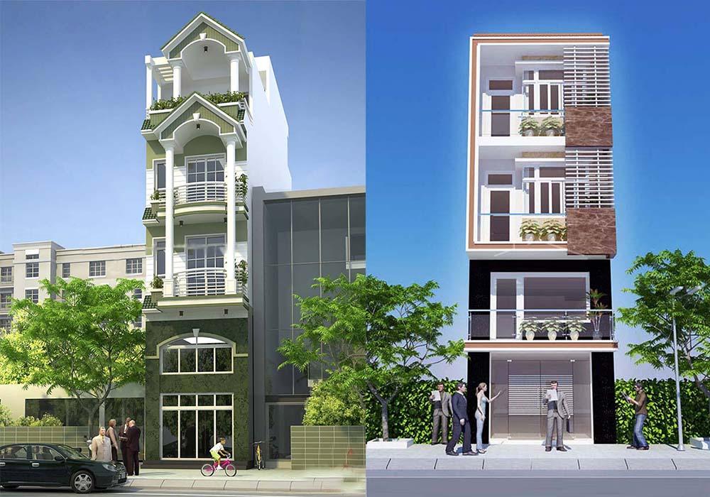 12 mẫu nhà phố đẹp 4 tầng được ưa chuộng post image