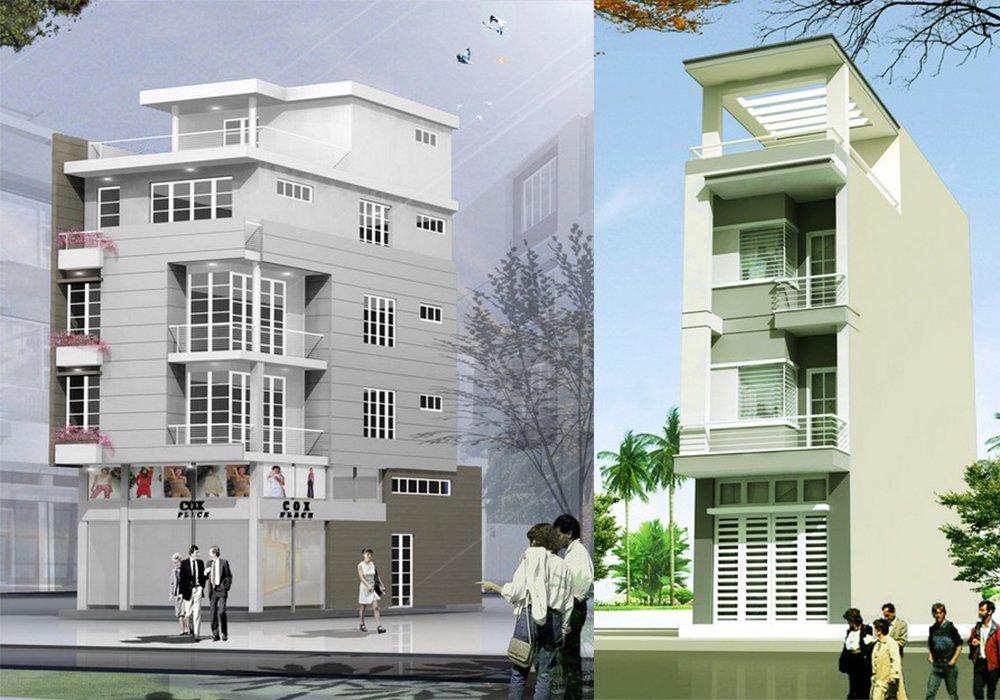 5 mẫu nhà phố đẹp và độc đáo cho gia chủ ở thành phố post image