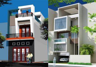 Tuyển chọn mẫu nhà phố hiện đại đẹp chi phí xây dựng chưa đến 500tr thumbnail