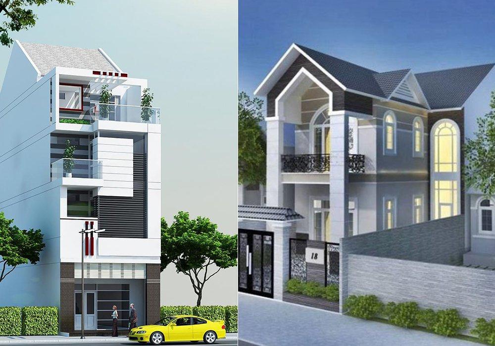 Mẫu nhà phố hiện đại cuốn hút hàng đầu Việt Nam hiện nay post image